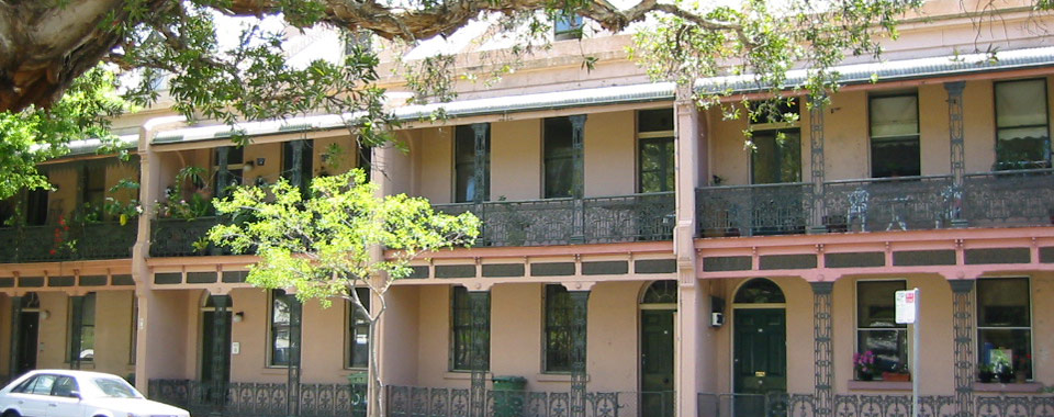 Orwell & Peter Phillips heritage conservation architecture - Early 19th century terrace houses, Millers Point