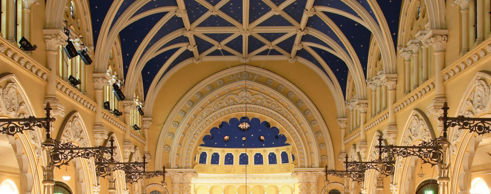 Orwell & Peter Phillips heritage conservation architecture - The Great Synagogue, Sydney (photo by Chris Bennett)
